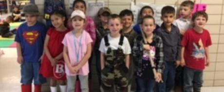 Kindergartener's Dressed as Commercial Fishermen